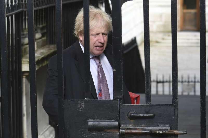 英國外交大臣強生是硬脫歐的支持者。(美聯社)