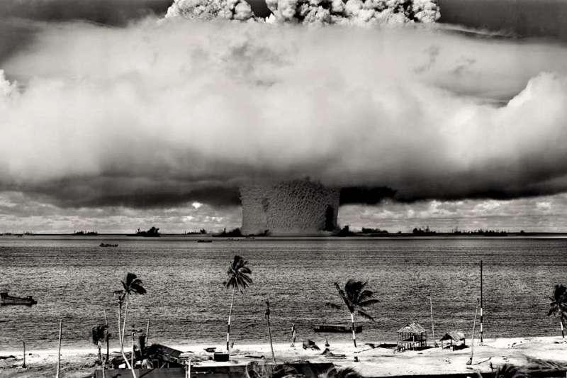 美國近期公開大量珍貴的核彈試驗影像。圖為示意圖,非美國檔案資料。(圖/pexels)