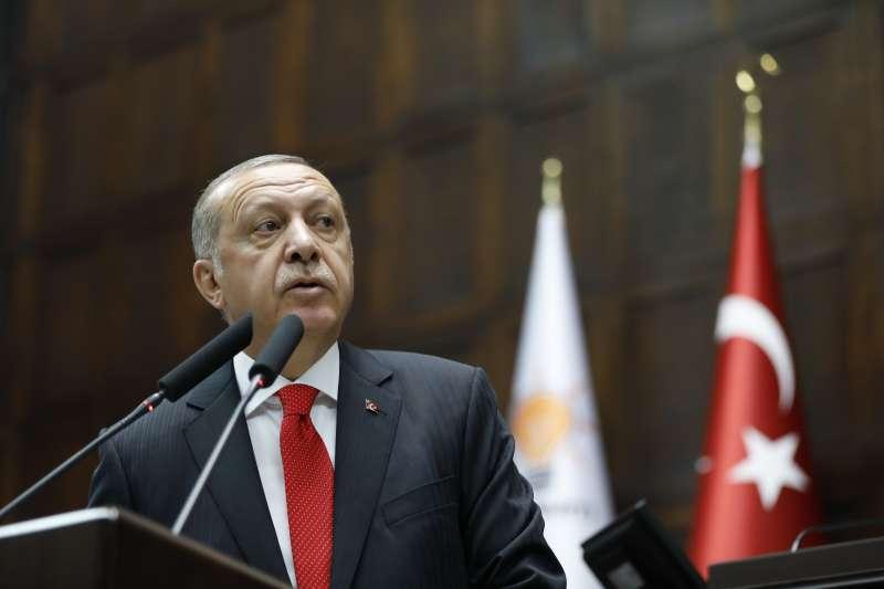 土耳其總統艾爾多安把影響力擴張至北賽普勒斯,引發當地民眾擔憂與反彈(AP)