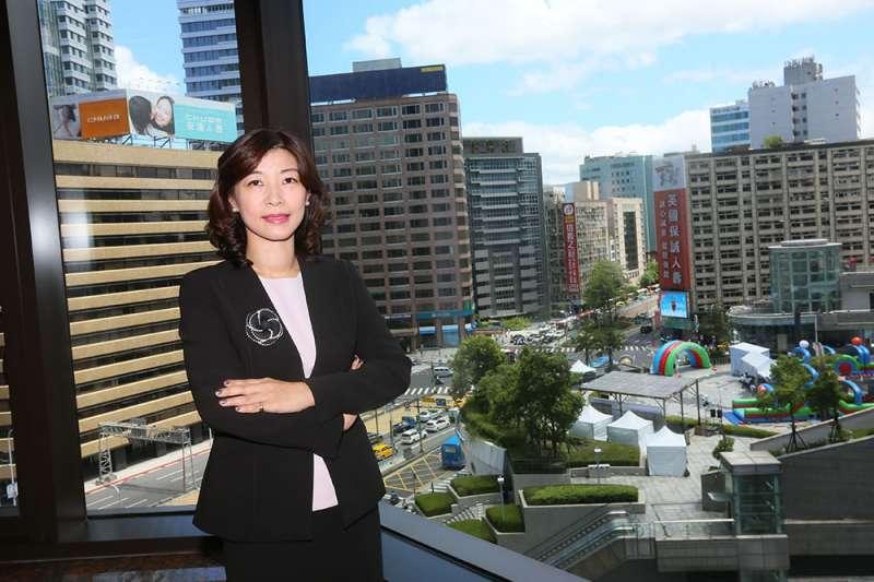 盧筱筠轉任律師起手式驚人,事務所地點選在台北市最昂貴的信義區。(柯承惠攝)