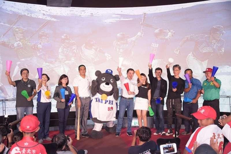 「野球風雲錄」特展即日起至12月30日止,在台北探索館展出。 (圖/臺北市政府觀光傳播局提供)