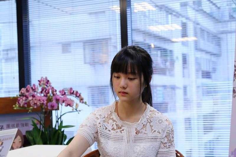 圍棋選手俞俐均奪得第4屆女子圍棋最強戰冠軍。(英格國際行銷(股)公司提供)