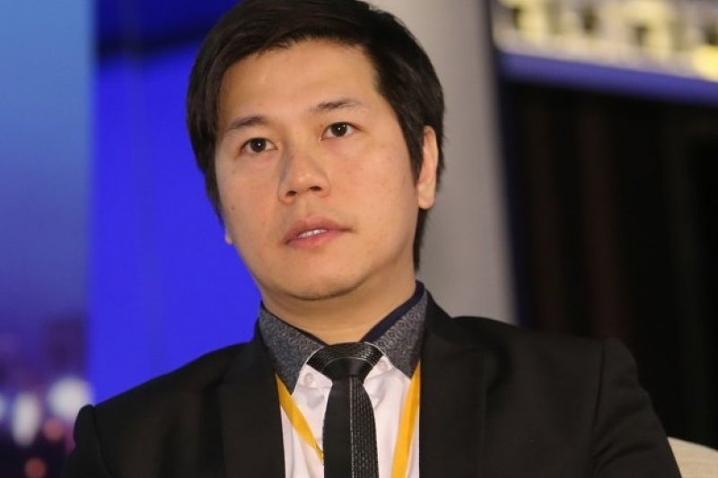 年僅39歲的吳傑莊表示,相較於香港創業第一代是以金融業、地產業起家,他與同學籌2萬港元創業,選擇以資本門檻較低的IT產業出發成功賺得第一桶金。(吳逸驊攝)