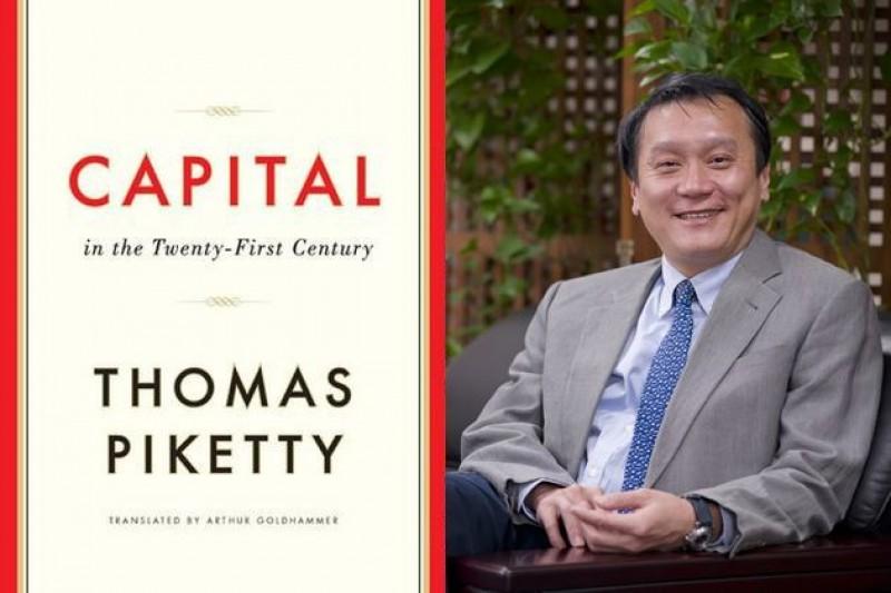 中研院士朱敬一導讀最夯經濟學著作《21世紀資本論》,對照台灣現狀,發人深省。(風傳媒影像合成)
