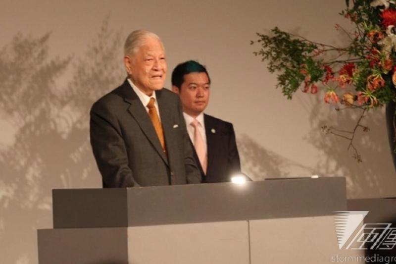 前總統李登輝訪日,並發表演說。(獨立媒體提供)