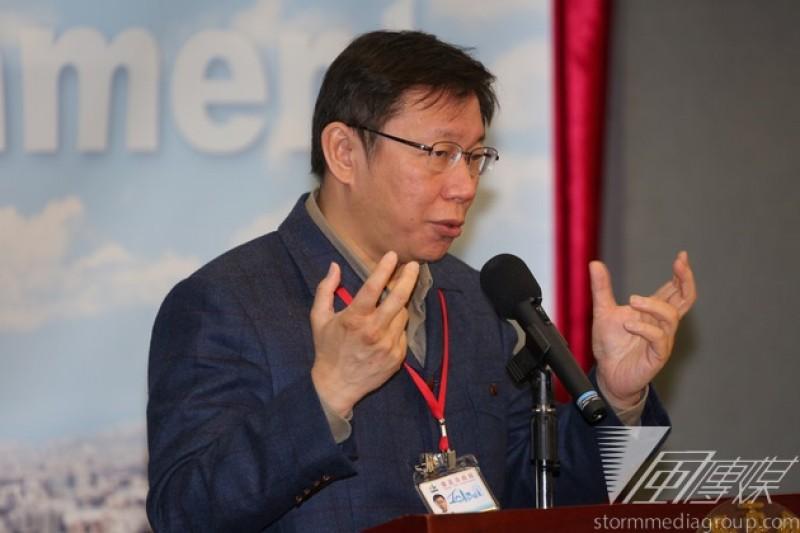 台北市長柯文哲29日宣布廉政透明委員會,優先調查5大案。(資料照片,余志偉攝)