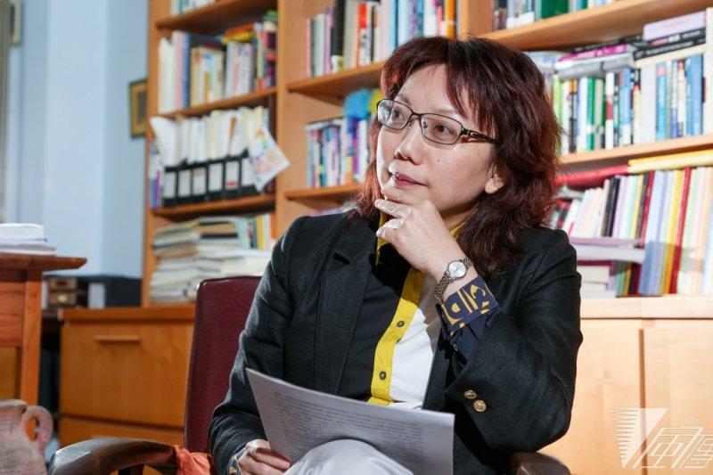 《風傳媒》日前專訪范雲,請她談談投入公民組合組黨運動的初衷、組織新政黨的理念。(余志偉攝)