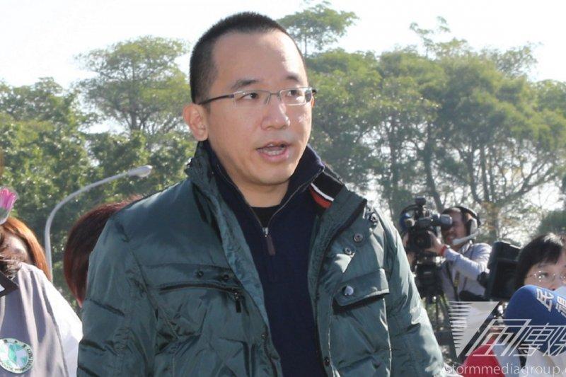陳致中將於下午召開記者會宣布退選。(資料照片,吳逸驊攝)