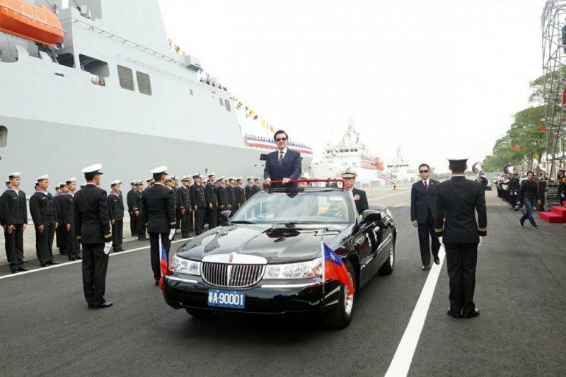 號稱「航母殺手」的海軍沱江級飛彈巡邏艦,今天正式加入海軍戰鬥行列!(蘇仲泓攝)