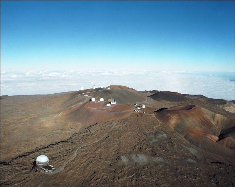 預定地附近已有部分望遠鏡。(美聯社)