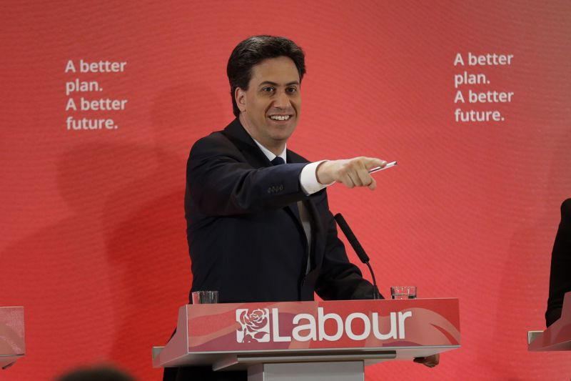 2015年英國大選。(美聯社)