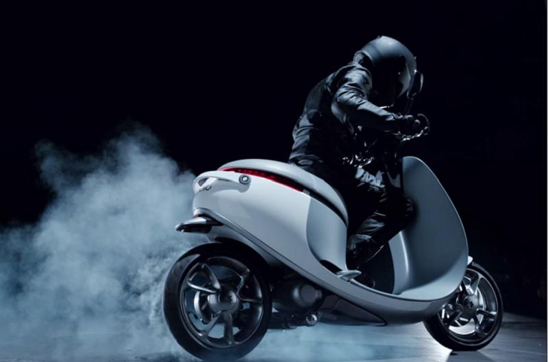 Gogoro公司舉行電動機車上市發表會。(截取自視頻)