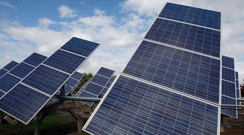 太陽能為環保能源之一。(取自推特)