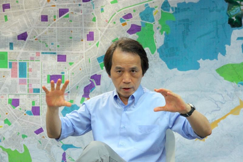 2015年7月22日,林欽榮專訪(曾原信攝)