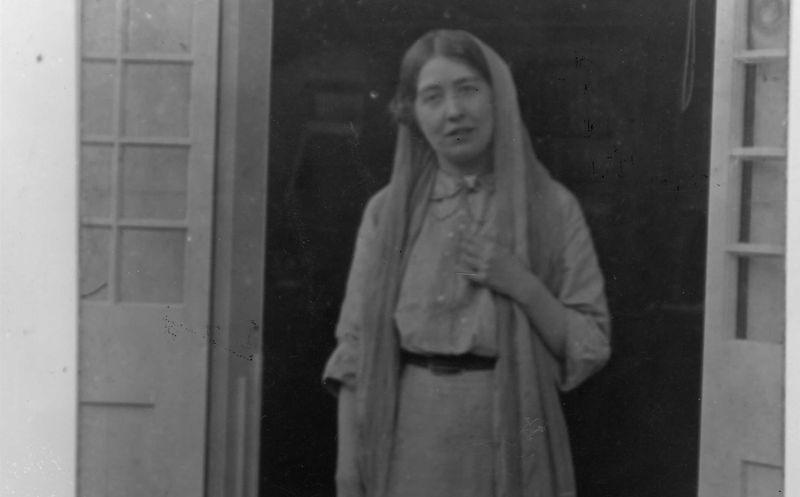 東倫敦女性投票權運動的領導人潘赫斯特女士(Sylvia Pankhurst) (Norah Smyth/IISH 提供)