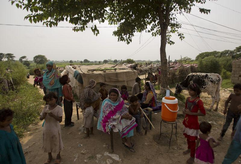 南亞巴基斯坦今年屢遭熱浪侵襲(美聯社)