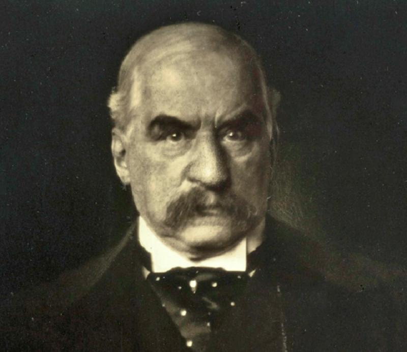 John Pierpont Morgan,摩根財團創始人。(維基百科)