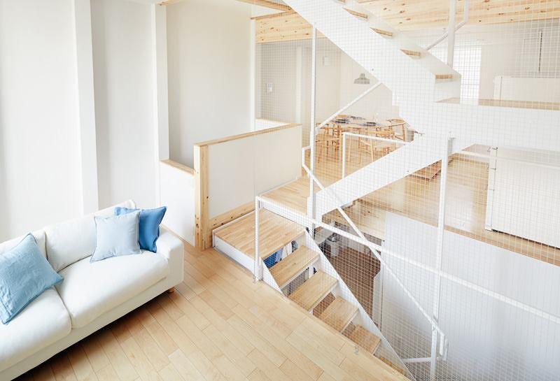 屋內設計通風,且空間之間沒有門的隔閡。(圖/無印良品の家@facbook)