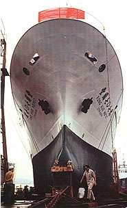 慶富造船依照合約進度,需在9月前將獵雷艦所需要義大利等國,官方技術輸出證明文件交給海軍進行查驗。(取自慶富造船官網)