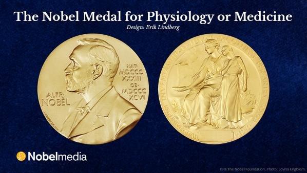 諾貝爾生理學或醫學獎獎章