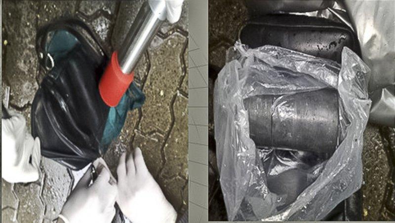 遭摩爾多瓦警方查獲的鈾-235。(美聯社)
