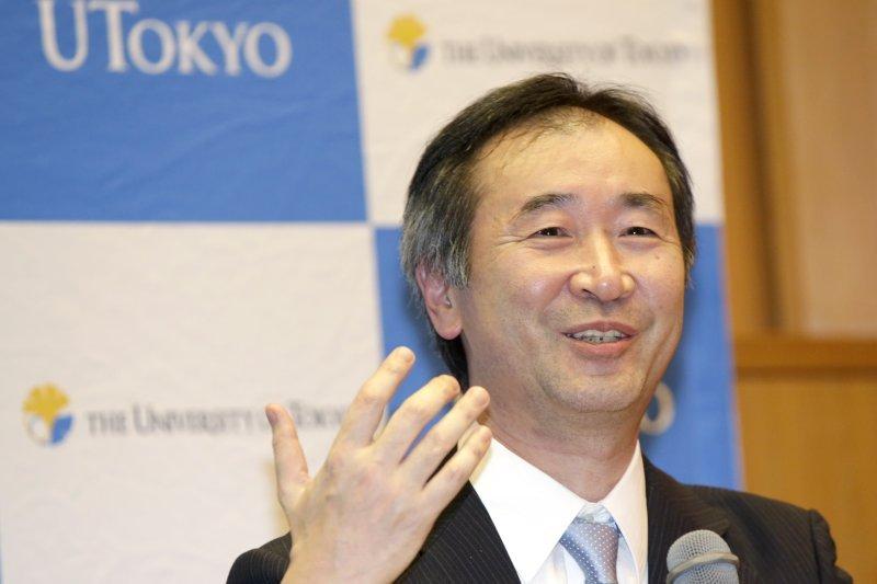 2015年諾貝爾物理學獎得主梶田隆章(美聯社)