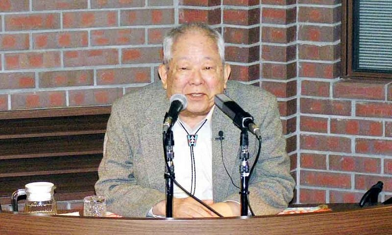 2002諾貝爾物理獎得主小柴昌俊。