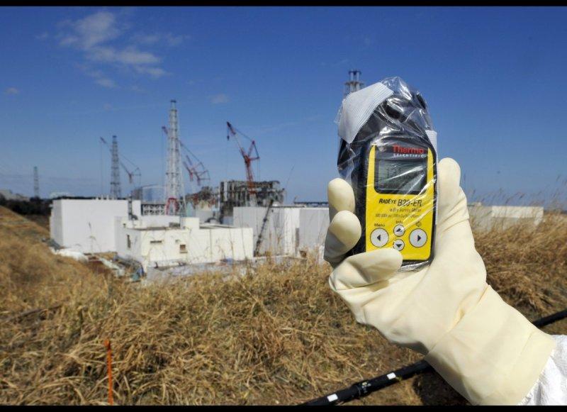 當時當時偵測的輻射量為每小時131毫西弗(美聯社)