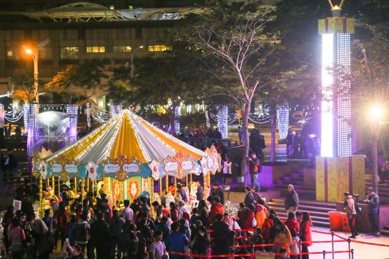 20151211-新北市歡樂耶誕城主燈新秀試映會(陳明仁攝)