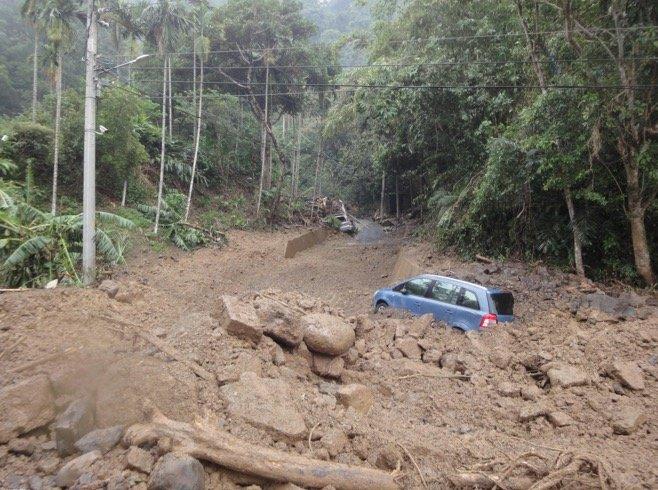 2015年蘇迪勒颱風。(取自農委會水保局)