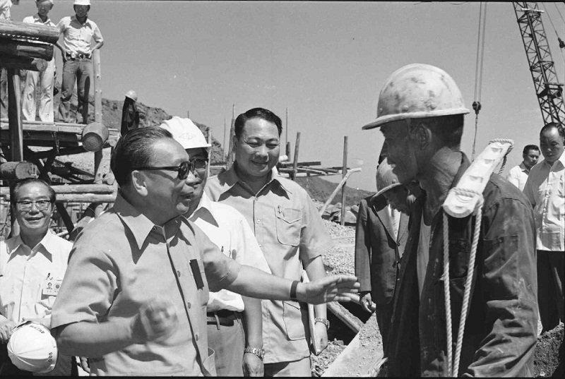 蔣經國推動的十大建設,奠定台灣基礎。(蔣經國先生百年誕辰紀念官網)