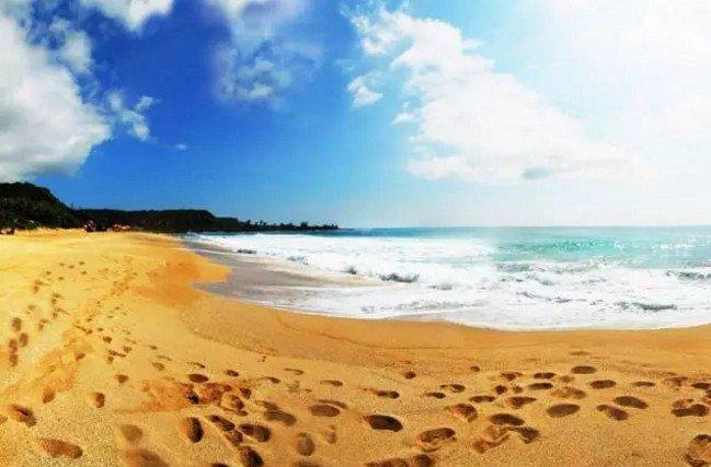 在台灣,有一種天涯海角,叫墾丁。(取自微信號直通台灣)