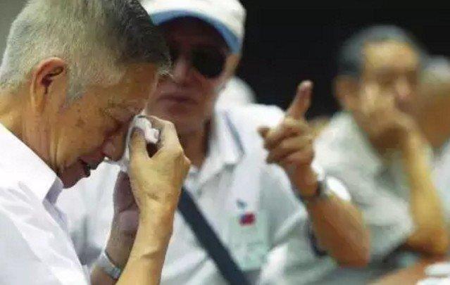 在台灣,有一種時代的流離與鄉愁,叫老兵。(取自微信號直通台灣)