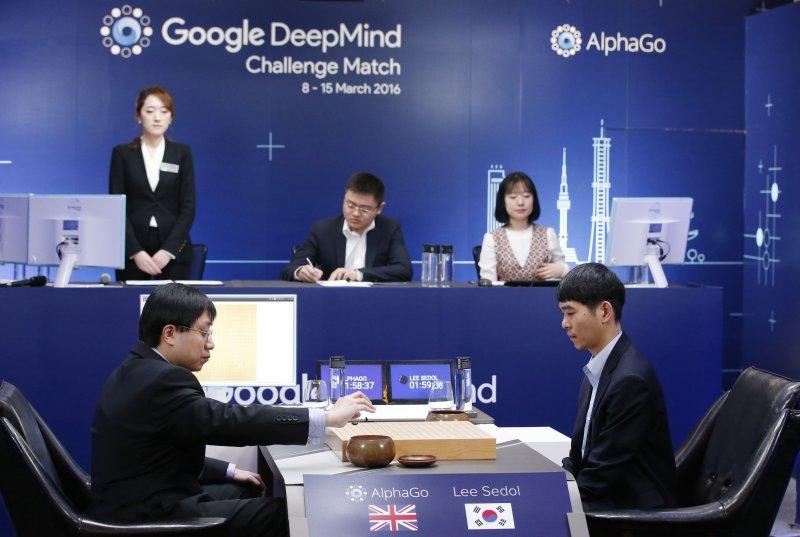 Alphago棋賽最終回,人腦仍不敵電腦,5回合只贏了1回合。(美聯社)