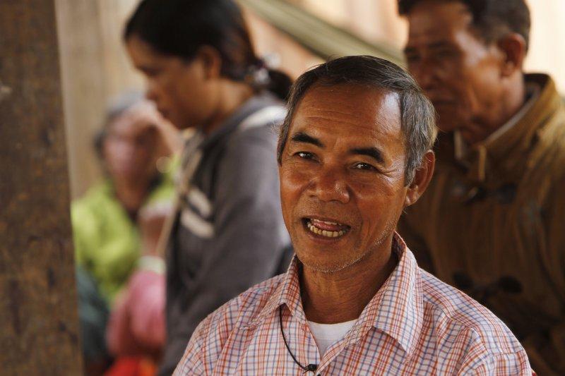 柬埔寨布農族人。(美聯社)