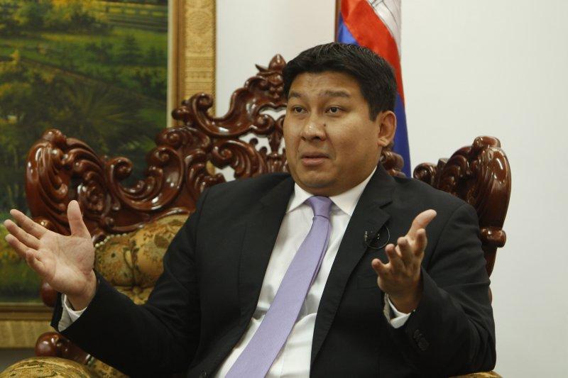 柬埔寨環境部長出面緩頰。(美聯社)