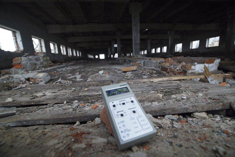 車諾比核災現場遺址。(美聯社)