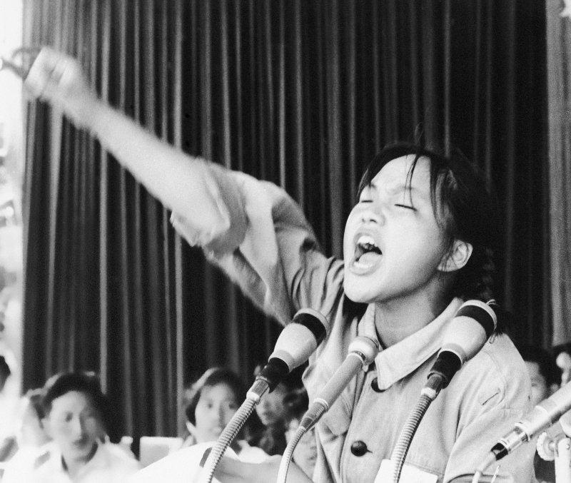 中國文化大革命(文革)時期的紅衛兵(美聯社)