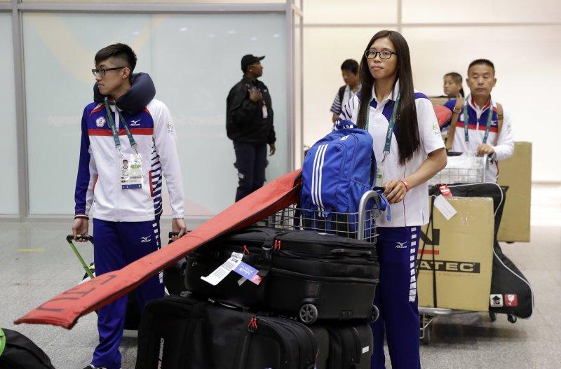 2016年里約奧運台灣代表隊(美聯社)