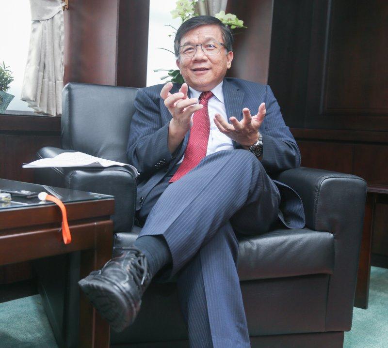 20160906-專訪經濟部長李世光.(陳明仁攝)