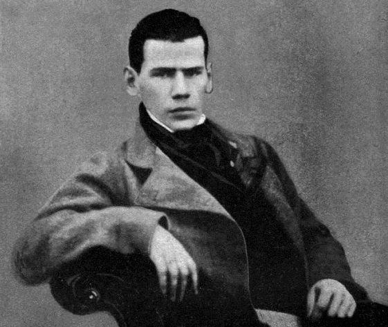 20歲的托爾斯泰(取自Wikipedia/PD-US)