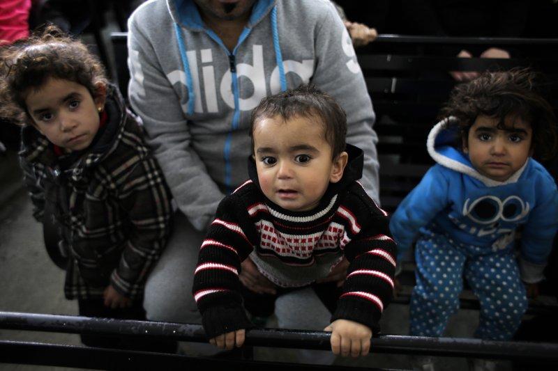 全球超級強權,拒絕敘利亞難民入境(AP)