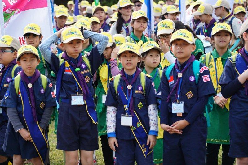 20170203-童軍大露營,國小童軍。(盧逸峰攝)