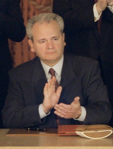 巴爾幹屠夫米洛塞維奇(Slobodan Milošević)。(wikipedia/public domain)