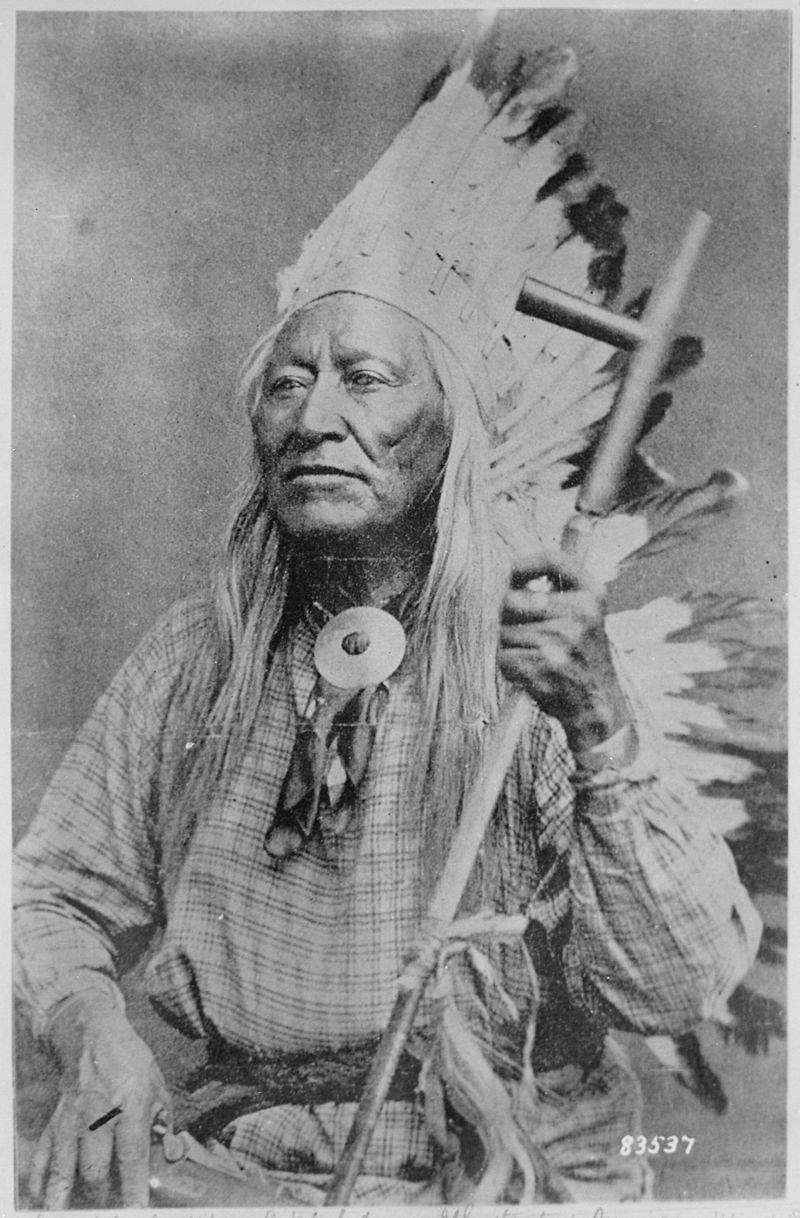 美國印地安人的一支休休尼人,又被稱為「食羊族」。(wikipedia/public domain)