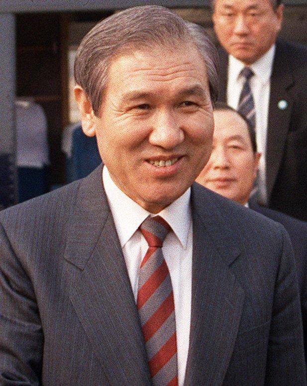 南韓前總統盧泰愚。(圖/維基百科公有領域)