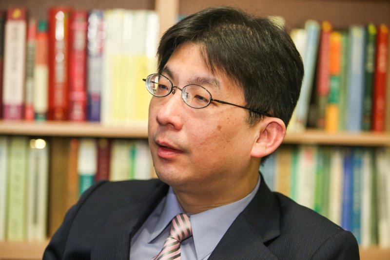 20170321專訪胡佛檔案館東亞館館長林孝庭.(陳明仁攝)