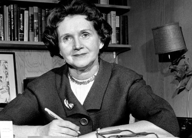美國海洋生物學家瑞秋.卡森是美國環保運動先驅,她以書寫喚醒美國與全球的環保意識(美聯社)