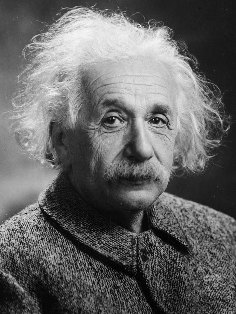 晚年的愛因斯坦。(wikipedia/public domain)