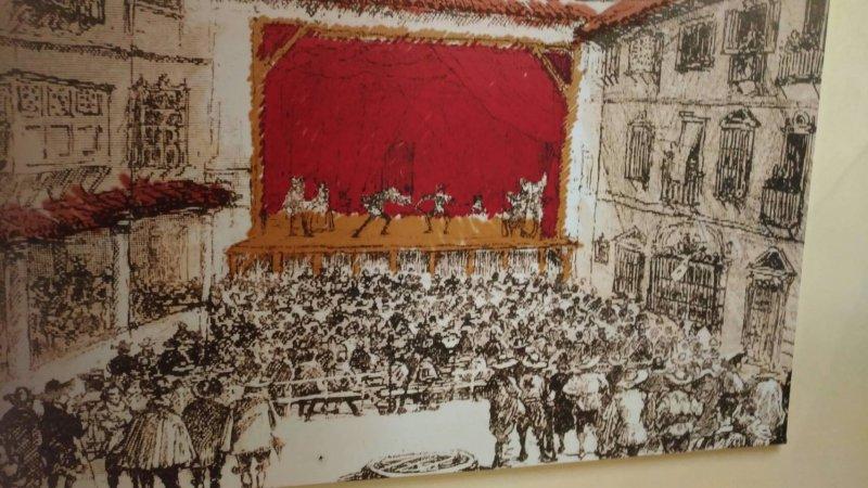 戲劇博物館內展示的西班牙劇場.jpg